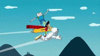Adventure Time Ski Safari  App TV Spot