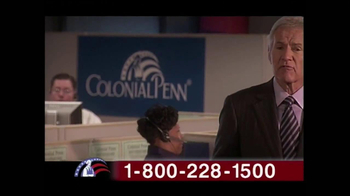 Colonial Penn TV Spot, 'Cubicles' Featuring Alex Trebek - Thumbnail 7