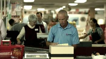 Mitsubishi Electric TV Spot, 'Grocery' Featuring Corey Pavin - Thumbnail 2