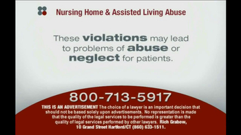 Sokolove Law TV Spot, 'Nursing Home & Assisted Living Abuse'