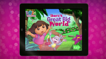Dora's Great Big World App TV Spot, 'Great Big World' - 130 commercial airings