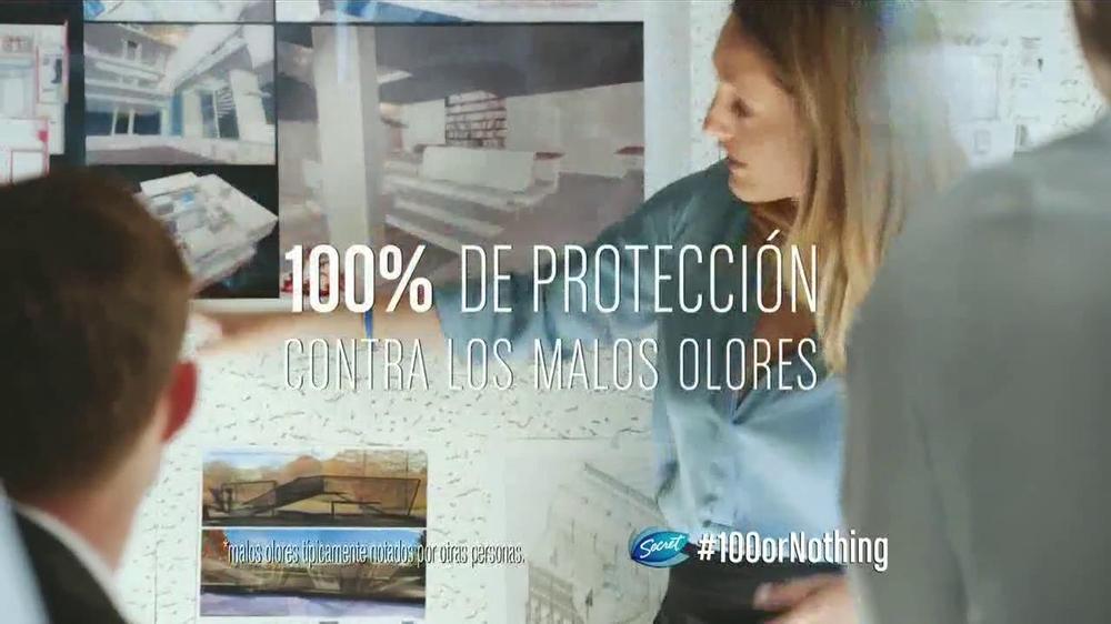 Secret Clinical Strength TV Commercial, 'Presentaci??n'
