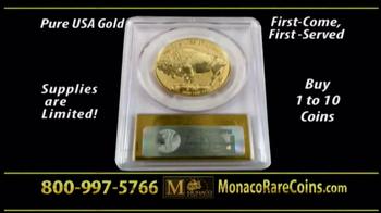Monaco Rare Coins Gold Buffalo Coin TV Spot - Thumbnail 10