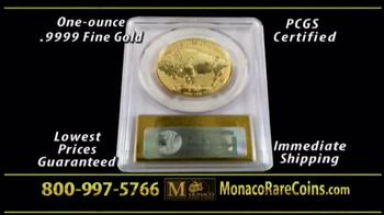 Monaco Rare Coins Gold Buffalo Coin TV Spot - Thumbnail 5