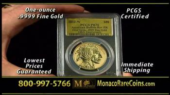 Monaco Rare Coins Gold Buffalo Coin TV Spot - Thumbnail 6