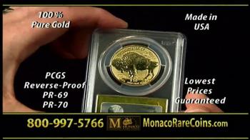 Monaco Rare Coins Gold Buffalo Coin TV Spot - Thumbnail 7