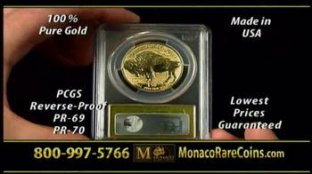 Monaco Rare Coins Gold Buffalo Coin TV Spot - Thumbnail 8
