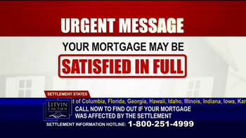 Litvin Law Firm TV Spot, 'Disqualified Mortgages' - Thumbnail 1