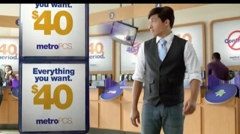 MetroPCS TV Spot, '$40 a Month. Period' - Thumbnail 4