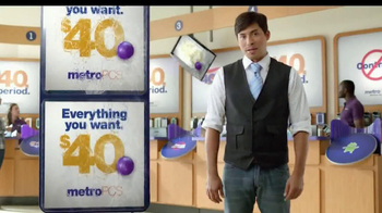 MetroPCS TV Spot, '$40 a Month. Period' - Thumbnail 5