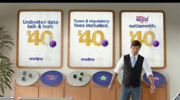 MetroPCS TV Spot, '$40 a Month. Period' - Thumbnail 9