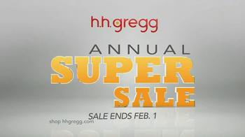 h.h. gregg Annual Super Sale TV Spot
