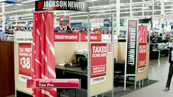 Jackson Hewitt TV Spot, 'Walmart Kiosk' - Thumbnail 1