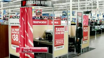 Jackson Hewitt TV Spot, 'Walmart Kiosk' - Thumbnail 2