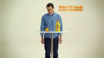 Minute Maid Pure Squeezed TV Spot, 'Hug It Out' Featuring Ty Burrell - Thumbnail 2