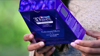 Crest 3D Whitestrips Luxe TV Spot - Thumbnail 10