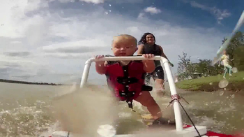 Pizza Hut TV Spot, 'Baby Waterskiing'