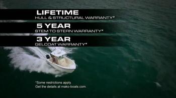 MAKO Boats TV Spot, 'Test of Time' - Thumbnail 8