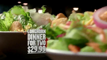 Longhorn Steakhouse Dinner for 2 TV Spot - Thumbnail 6
