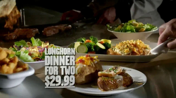 Longhorn Steakhouse Dinner for 2 TV Spot - Thumbnail 9
