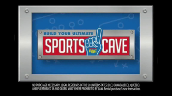 Rent-A-Center TV Spot, 'Build Your Ultimate Sports Cave'