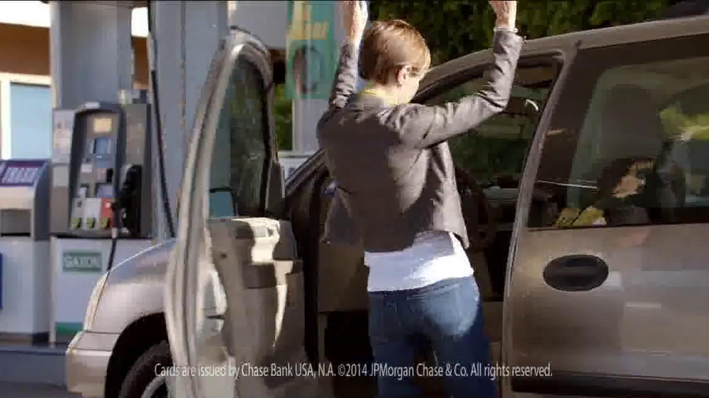 Kevin Hart Commercial >> Chase Freedom Card TV Commercial, 'At the Pumps' - iSpot.tv