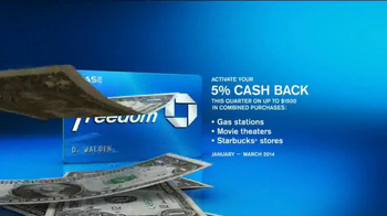 Chase Freedom Card TV Spot, 'At the Pumps' - Thumbnail 9