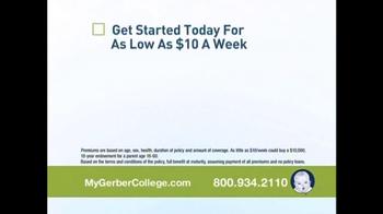 Gerber Life College Plan TV Spot, '9 out of 10 Parents' - Thumbnail 4