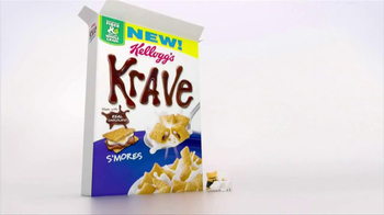 Kellogg's Krave S'Mores TV Spot, 'Chocolate and Marshmallow' - Thumbnail 1