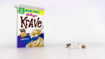Kellogg's Krave S'Mores TV Spot, 'Chocolate and Marshmallow' - Thumbnail 9