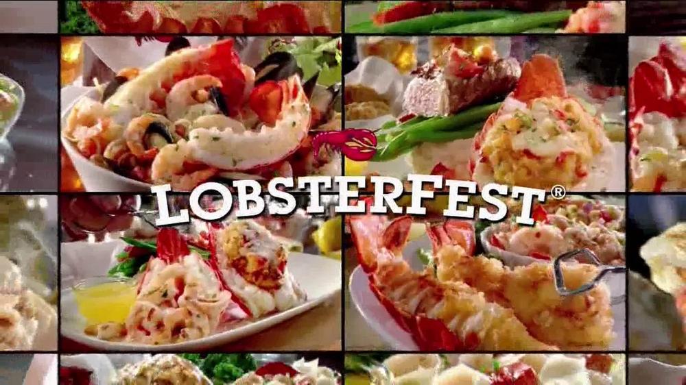 Red Lobster Lobsterfest TV Spot