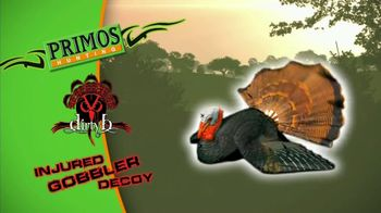 Primos Dirty B Injured Gobbler Decoy TV Spot