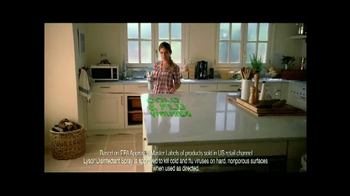 Lysol No-Touch Hand Soap TV Spot - Thumbnail 7