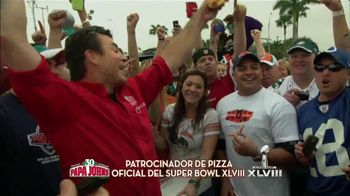 Papa John's TV Spot, 'Super Bowl' [Spanish] - 8 commercial airings