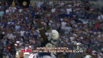 Papa John's TV Spot, 'Super Bowl' [Spanish] - Thumbnail 5
