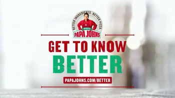 Papa John's TV Spot, 'All-Natural Pizza Sauce' - Thumbnail 6