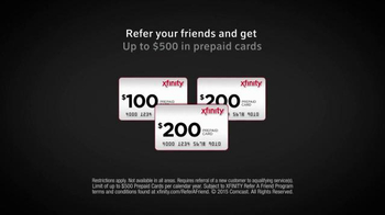XFINITY TV Spot, 'Refer a Friend' - Thumbnail 6