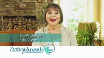 Visiting Angels TV Spot, 'Personal Home Care' Featuring Cindy Willliams