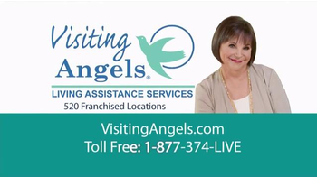 Visiting Angels TV Spot, 'Personal Home Care' Featuring Cindy Willliams - Thumbnail 9