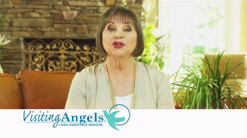 Visiting Angels TV Spot, 'Personal Home Care' Featuring Cindy Willliams - Thumbnail 2