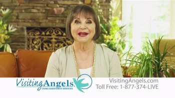 Visiting Angels TV Spot, 'Personal Home Care' Featuring Cindy Willliams - Thumbnail 3