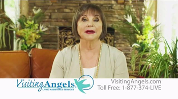 Visiting Angels TV Spot, 'Personal Home Care' Featuring Cindy Willliams - Thumbnail 6