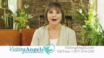 Visiting Angels TV Spot, 'Personal Home Care' Featuring Cindy Willliams - Thumbnail 7