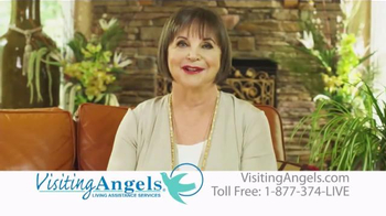 Visiting Angels TV Spot, 'Personal Home Care' Featuring Cindy Willliams - Thumbnail 8