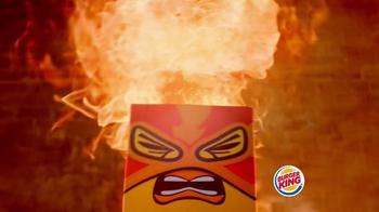 Burger King Fiery Chicken Fries TV Spot, 'Caution' - Thumbnail 6