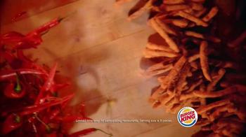 Burger King Fiery Chicken Fries TV Spot, 'Caution' - Thumbnail 7