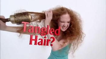 Michel Mercier No Tangle Brush Pro TV Spot, 'Detangle Stubborn Hair' - Thumbnail 1