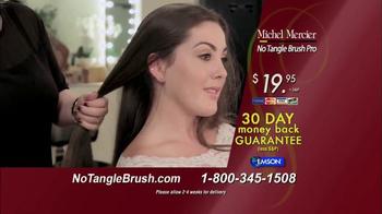 Michel Mercier No Tangle Brush Pro TV Spot, 'Detangle Stubborn Hair' - Thumbnail 9