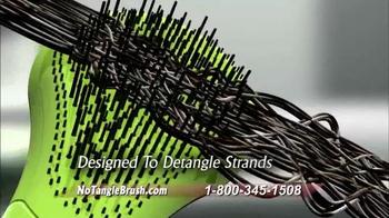 Michel Mercier No Tangle Brush Pro TV Spot, 'Detangle Stubborn Hair' - Thumbnail 5