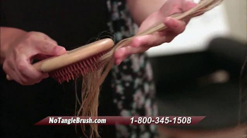 Michel Mercier No Tangle Brush Pro TV Spot, 'Detangle Stubborn Hair' - Thumbnail 6